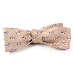 Champagne The Signature bow ties