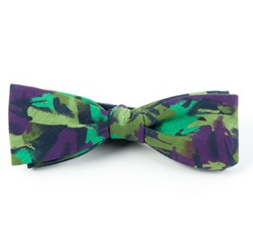 The Nelson Plum Bow Ties