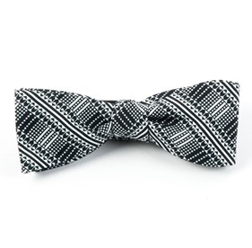 Black The Kushner bow ties