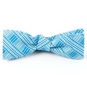 The Kushner Serene Blue Bow Ties