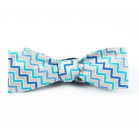 The Deeley Champagne Bow Ties