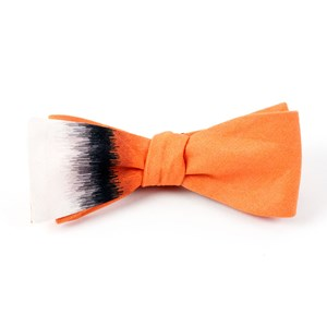 the lizzy caplan tangerine bow ties