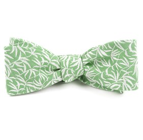 The Malecon Apple Green Bow Ties