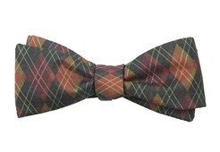 Bow Ties - The Jackson - Dark Clover Green
