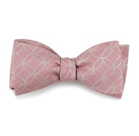 The Vermont Pink Bow Ties