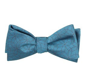 Serene Blue The Royal bow ties