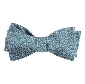 Teal The Sinaloa bow ties