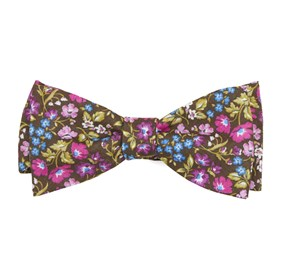 Brown The Menaul bow ties