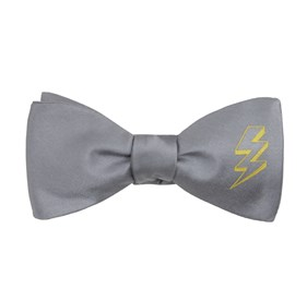 Silver The Grant Gustin bow ties