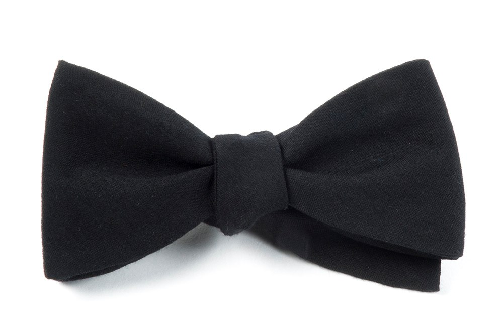 Black Bow Ties