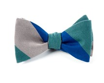 Bow Ties - BIG WOOL STRIPE - HUNTER