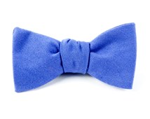 BOW TIES - SOLID WOOL - VIOLET