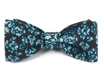 Bow Ties - SERPENTINE FLORAL - CHOCOLATE BROWN