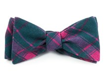 Bow Ties - ABBEY PLAID - GREEN TEAL