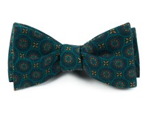 Bow Ties - ERA MEDALLIONS - GREEN TEAL