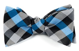 Bow Ties - GINGHAM FUSION - BLUE