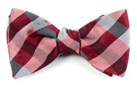 Bow Ties - GINGHAM FUSION - RED