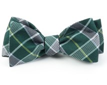 Bow Ties - CATALYST PLAID - HUNTER GREEN