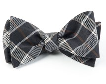 Bow Ties - CATALYST PLAID - CHARCOAL