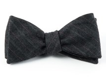 Bow Ties - WELLS STRIPE - SILVER