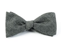 Bow Ties - MINI TOOTH - BLACK