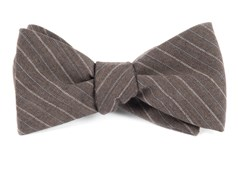 Bow Ties - PASSAGEWAY STRIPE - Brown
