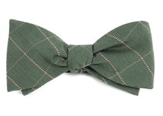 Bow Ties - Goalpost Pane - Army Green