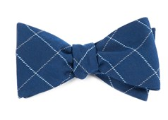 Bow Ties - Goalpost Pane - Navy