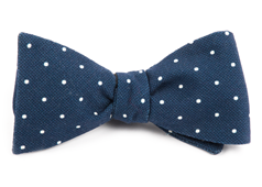 Bow Ties - Primary Dot - Navy