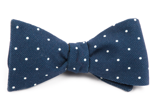 1920s Bow Ties | Gatsby Tie,  Art Deco Tie Primary Dot $19.00 AT vintagedancer.com