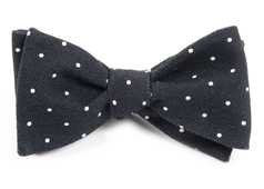 Bow Ties - Primary Dot - Black