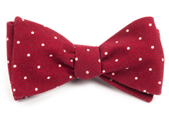 Bow Ties - Primary Dot - Red