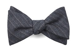 Bow Ties - Assembly Of Stripes - Whale Blue