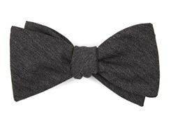 Bow Ties - Brewhouse Herringbone - Brown