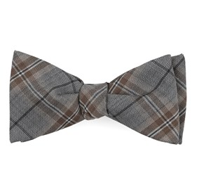 Rebel Plaid Champagne Bow Ties
