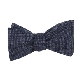 Blue Standard Solid bow ties