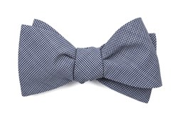 Bow Ties - Infinite Checks - Navy