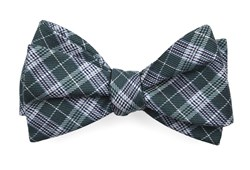 Bow Ties - Emerson Plaid - Hunter Green