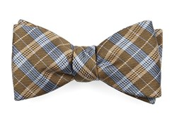 Bow Ties - Emerson Plaid - Mustard