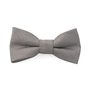 bhldn linen row silver boys bow ties