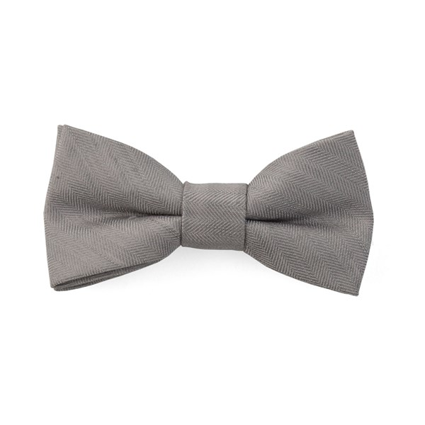 Silver Bhldn Linen Row Bow Tie
