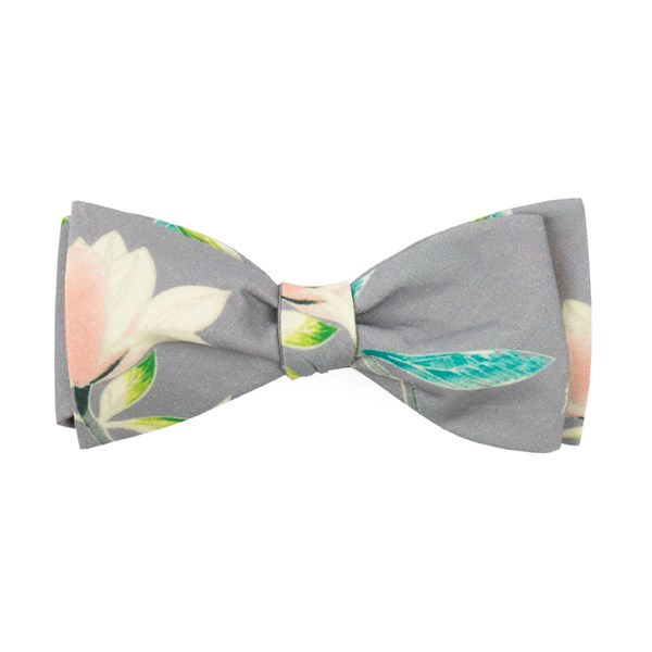 Soft Steel Mumu - Lily Showers Bow Tie