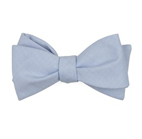 Light Blue Uptown Solid bow ties