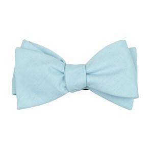 uptown solid mint bow ties
