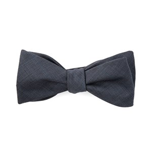 knick plaid blue bow ties