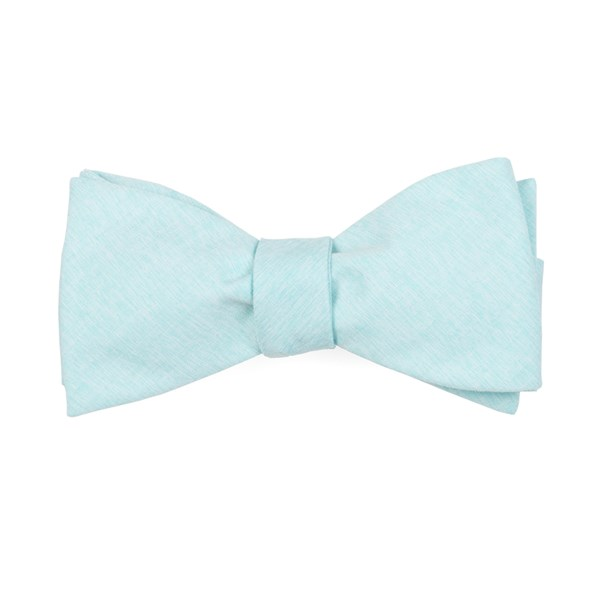 Mint Sunset Solid Bow Tie