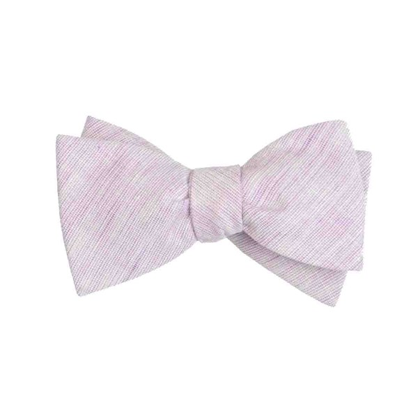 Lavender Serenity Solid Bow Tie