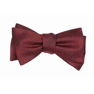 glimmer burgundy bow ties
