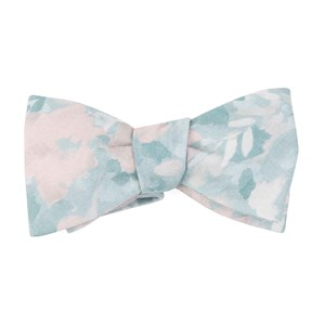 mumu weddings - sage i do sage bow ties