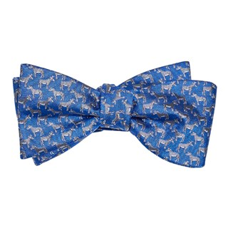 democratic donkey classic blue bow ties